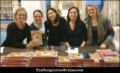 I JUST WANT TO PEE ALONE book signing NJ 041813 via @TheKimBongiorno