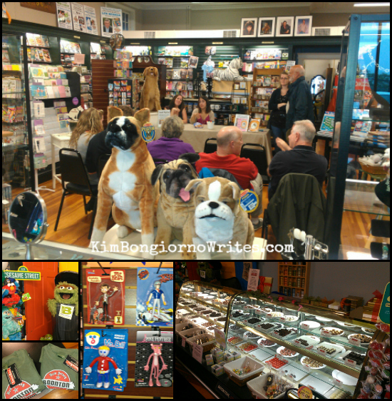Bobbys News And Gifts Boonton NJ I JUST WANT TO PEE ALONE book signing 060713 via @TheKimBongiorno of @LetMeStart