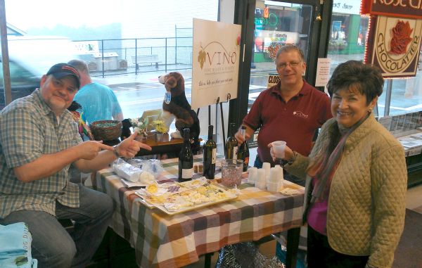 VinoFineWines at BobbysNewsAndGifts in Boonton NJ for the IJWTPA Book Signing 060713