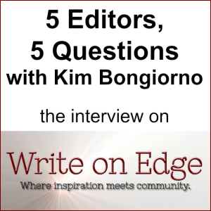The @Write_OnEdge interview of Kim Bongiorno @LetMeStart