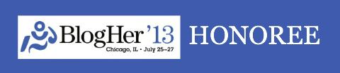 @TheKimBongiorno #BlogHer13 #VOTY Honoree