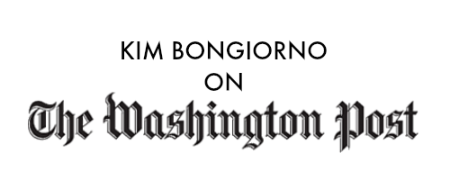Kim Bongiorno on The Washington Post