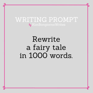 Writing prompt by KimBongiornoWrites #amwriting | flash fiction writing exercises and fairy tales