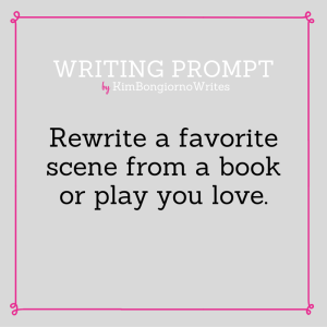 Writing prompt by KimBongiornoWrites #amwriting