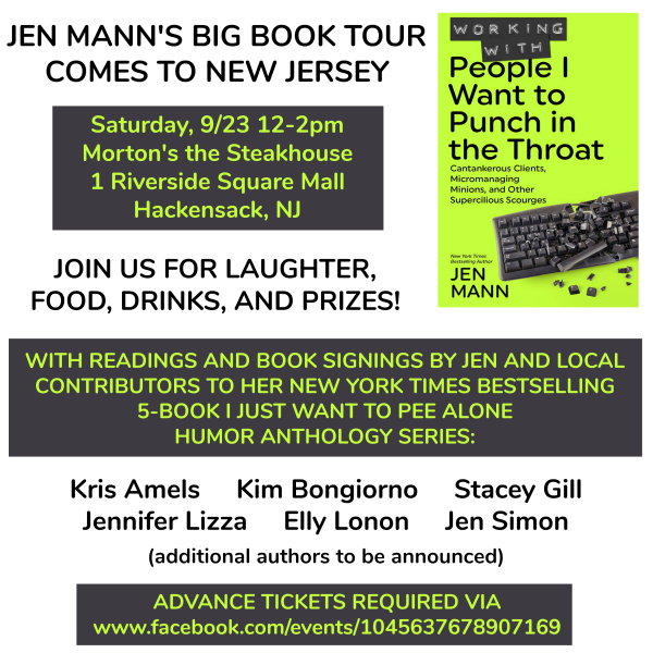 Jen Mann Book Tour Hackensack, New Jersey
