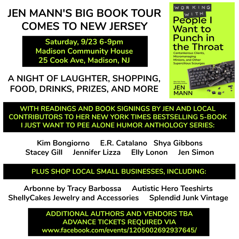 Jen Mann Book Tour Madison square v2 2017