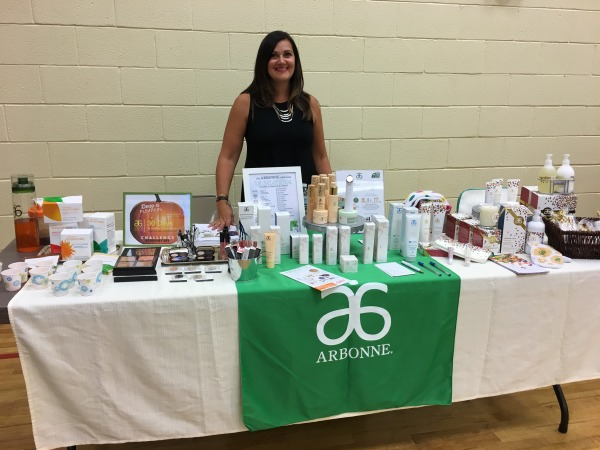 Tracy Barbossa of Arbonne at the Jen Mann Big Book Tour Girls Night Out in Madison, NJ 2017 | @tracybarbossa #arbonne