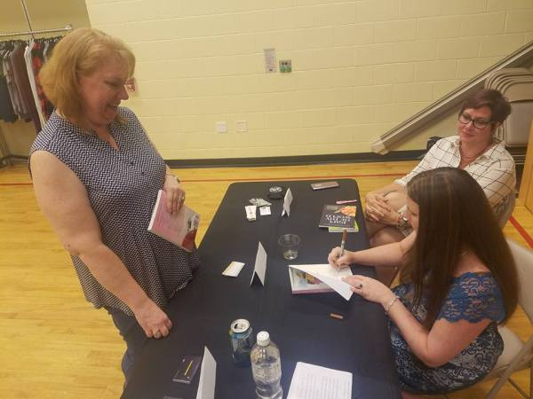 Jen Mann Big Book Tour Girls Night Out in Madison,NJ via Shya Gibbons