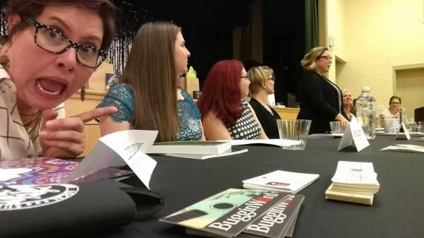 Jen Mann Big Book Tour Madison NJ by Elly Lonon
