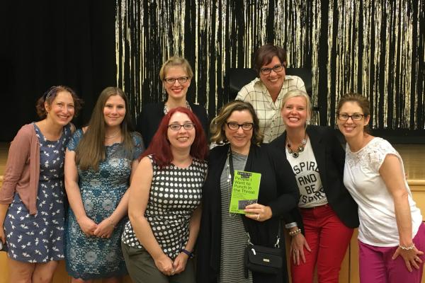 Jen Mann Big Book Tour stop in Madison NJ